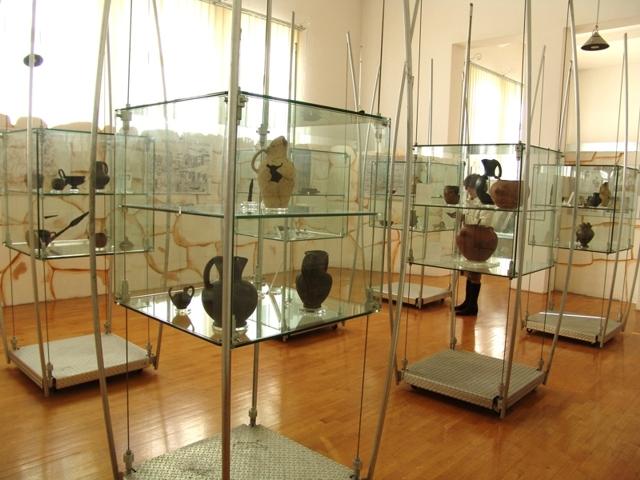 Interno del Museo Civico Archeologico