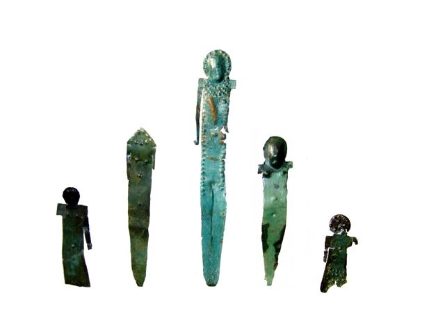 Laminette antropomorfe del VII- V secolo a.C.