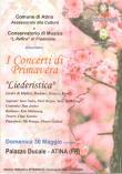 Concerti primavera 30 maggio 2010