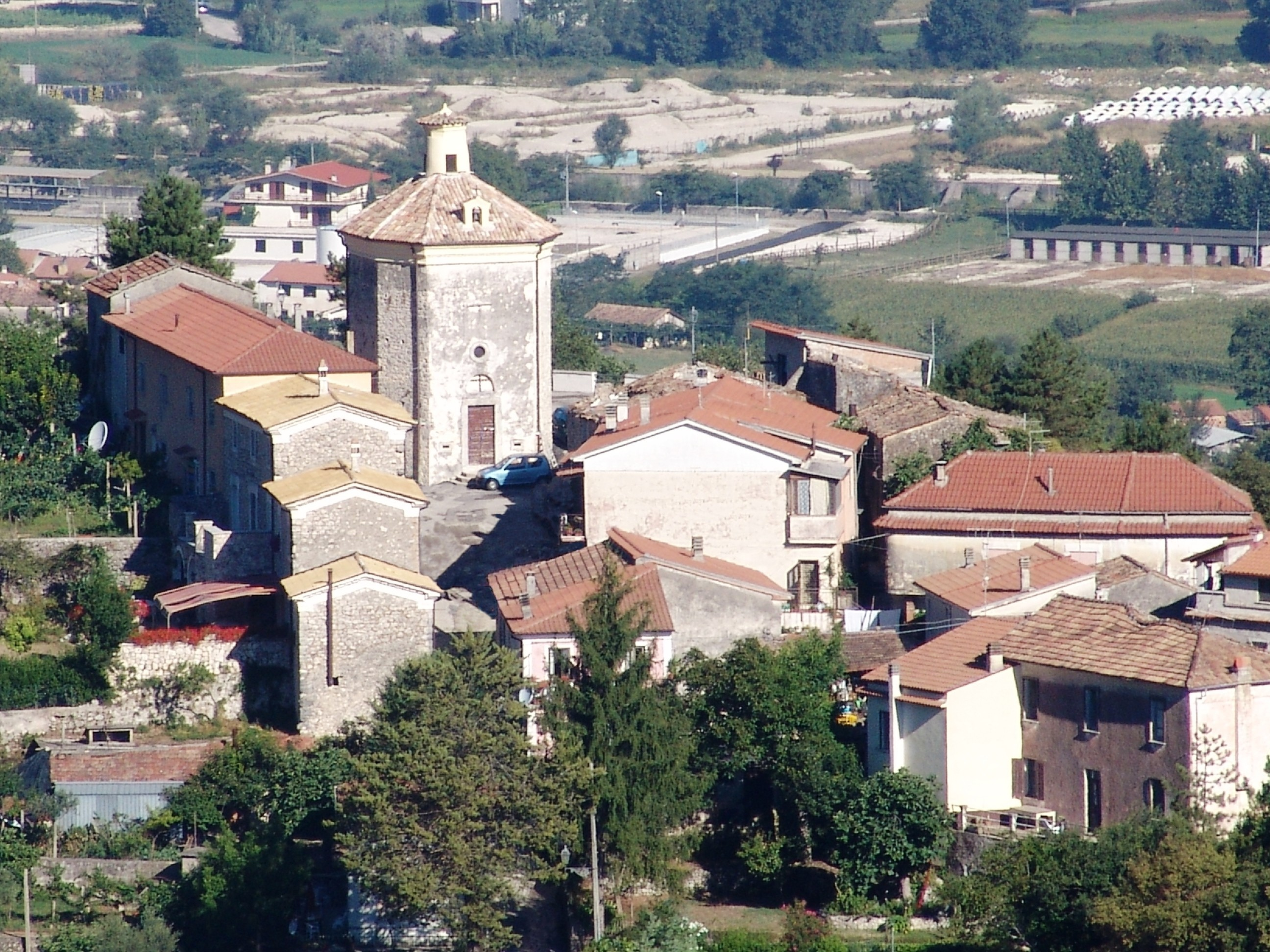 Panorama del Colle dal Palazzo Ducale